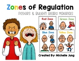 Zones of Regulation Bulletin Board / Posters (Boardmaker Symbols)