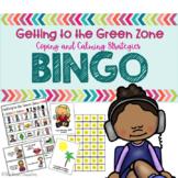 Zones of Regulation Calming and Coping Strategies Bingo
