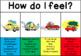 Zones of  Regulation - Car bumper pack + emotion gauge