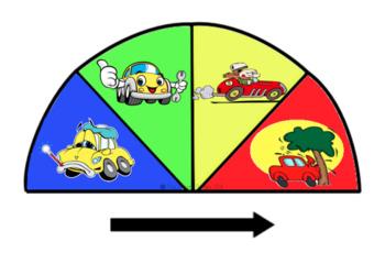 Self Regulation Tools: Car Engine Feelings/Emotion pack
