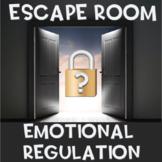 Emotional Regulation Escape Room (use with Zones of Regulation)