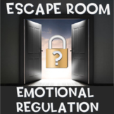 Emotional Regulation Escape Room (use with Zones of Regulation)