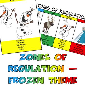 Zones of Regulation - Frozen Bumper Pack