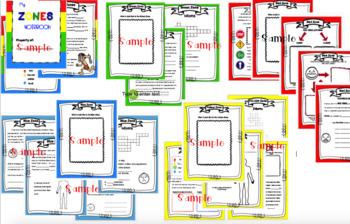 Zones of Regulation Interactive Notebook
