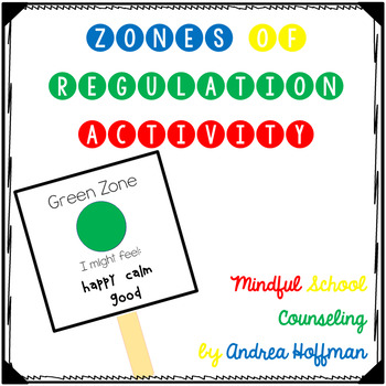 Zones of Regulation Intro Lesson Activity