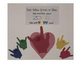 Zones of Regulation Love Poster!