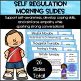 Zones of Regulation Morning Slides