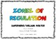 Zones of Regulation - Superhero/Villains Poster