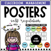Zones of Regulation Posters + Zone Circles