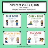 Zones of Regulation:  Set of 4 Posters