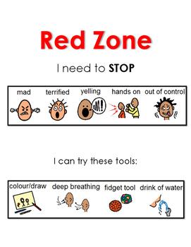 Zones of Regulation: Red Zone