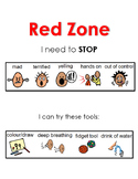 Zones of Regulation: Red Zone