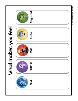 Zones of Regulation  Resource Pack [Inside Out edition]