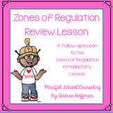 Zones of Regulation Review Lesson Follow-Up Part 2
