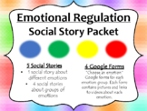 Zones of Regulation: Social Story  and Interactive Google Form Packet