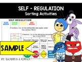 Zones of Regulation Sorting Activities [Sample FREEBIE]