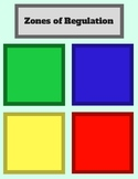 Zones of Regulation Sorting Freebie - by AllDayABA