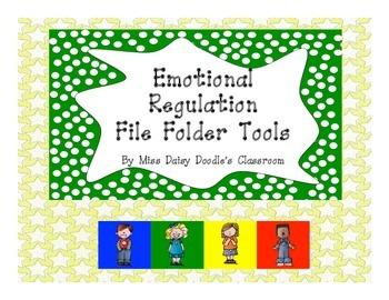 Emotional Regulation Tools-File Folder