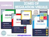 Zones of Regulation Visuals