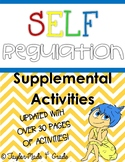 Zones of Regulation - Writing Prompts, Worksheets & Booklet