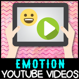 Self regulation Emotions: YouTube 40+ Video Resource List