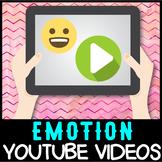 Self regulation Emotions: YouTube 40+ Video Resource List