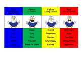 Zones of Regulation with a mascot