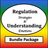 Zones of Self Regulation Activities Bundle {Regulation Strategies Visuals}