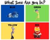 Zones of Self Regulation Posters