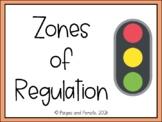 Zones of Self Regulation Posters and Flipbook