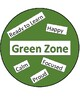 Zones simple visual with words