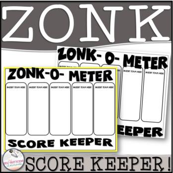 Zonk-O-Meter Score Keeper