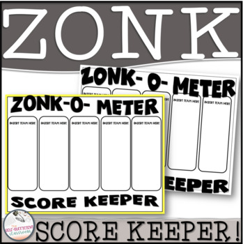 FREE Zonk-O-Meter Score Keeper