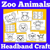 Zoo Animal Crafts Worksheets Teaching Resources Tpt