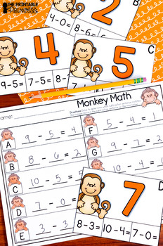 Kindergarten Zoo Theme Centers | Math and Literacy Activities