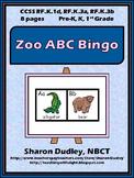 Zoo ABC Bingo