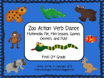 Zoo Action Verbs