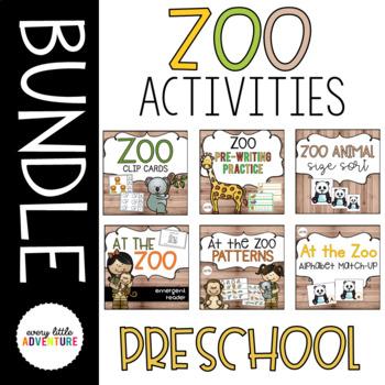 Zoo Activities Bundle
