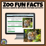 Zoo Activity - Fun Facts Mystery Picture