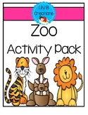 After School Activity Pack - Zoo Theme
