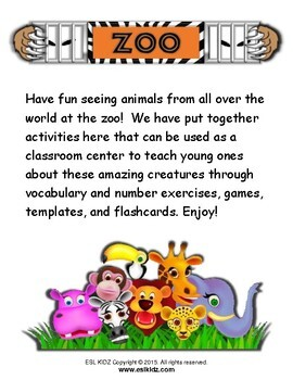 Zoo Activity Set