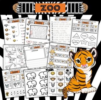 Zoo Activity Set