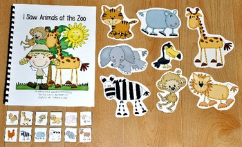 "Zoo Adapted Book--""I Saw Animals At the Zoo"""