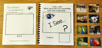 "Zoo Adapted Book:  ""I See"" At the Zoo"