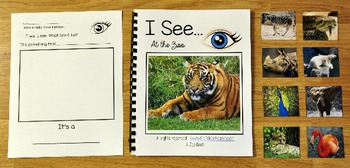 """Zoo Adapted Book:  """"I See"""" At the Zoo"""