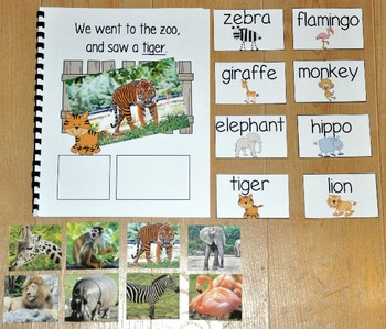 "Zoo Adapted Book--""We Went to the Zoo"" (w/Real Photos)"