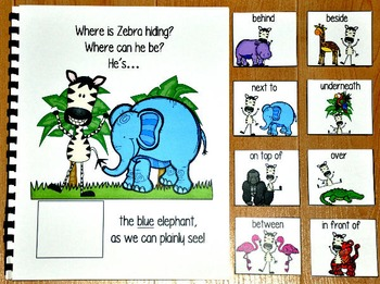 """Zoo Adapted Book--""""Where Is Zebra Hiding?"""""""