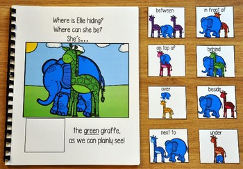 "Zoo Adapted Book--""Where is Ellie Hiding?"""