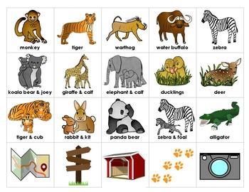 Zoo Adventures Story Starters