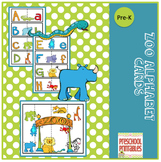 Zoo Alphabet Cards